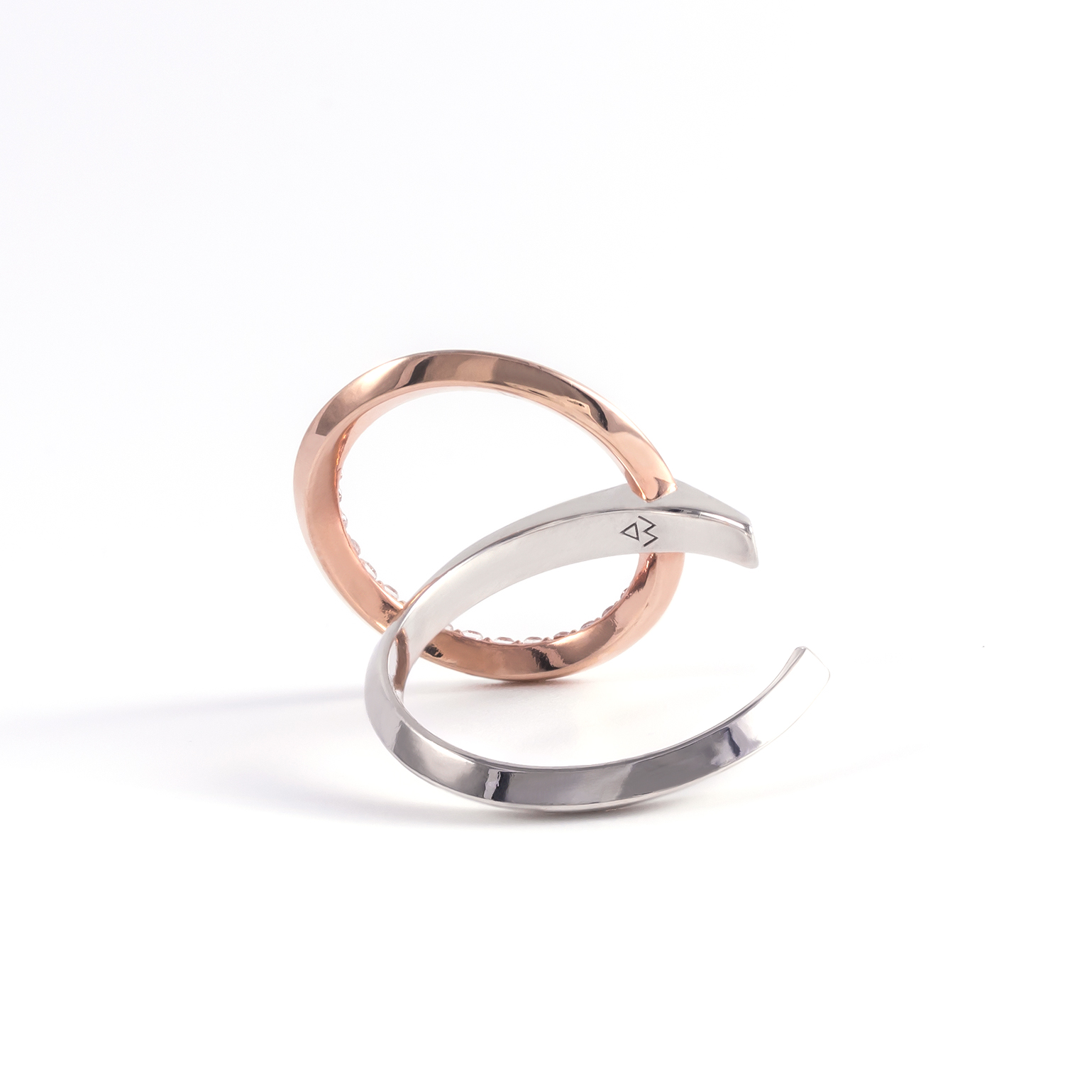 Lyra Two-Tone Ring (Small)