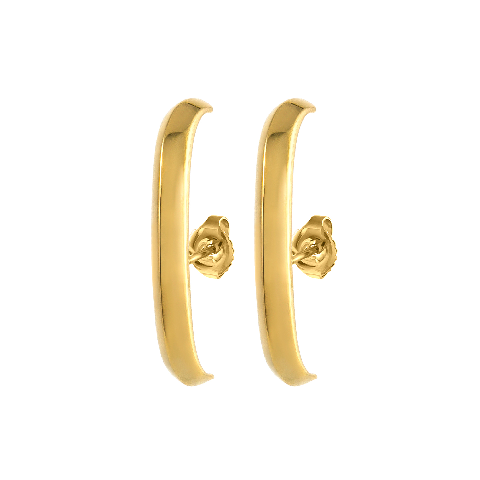 Crescent Earrings (Large)