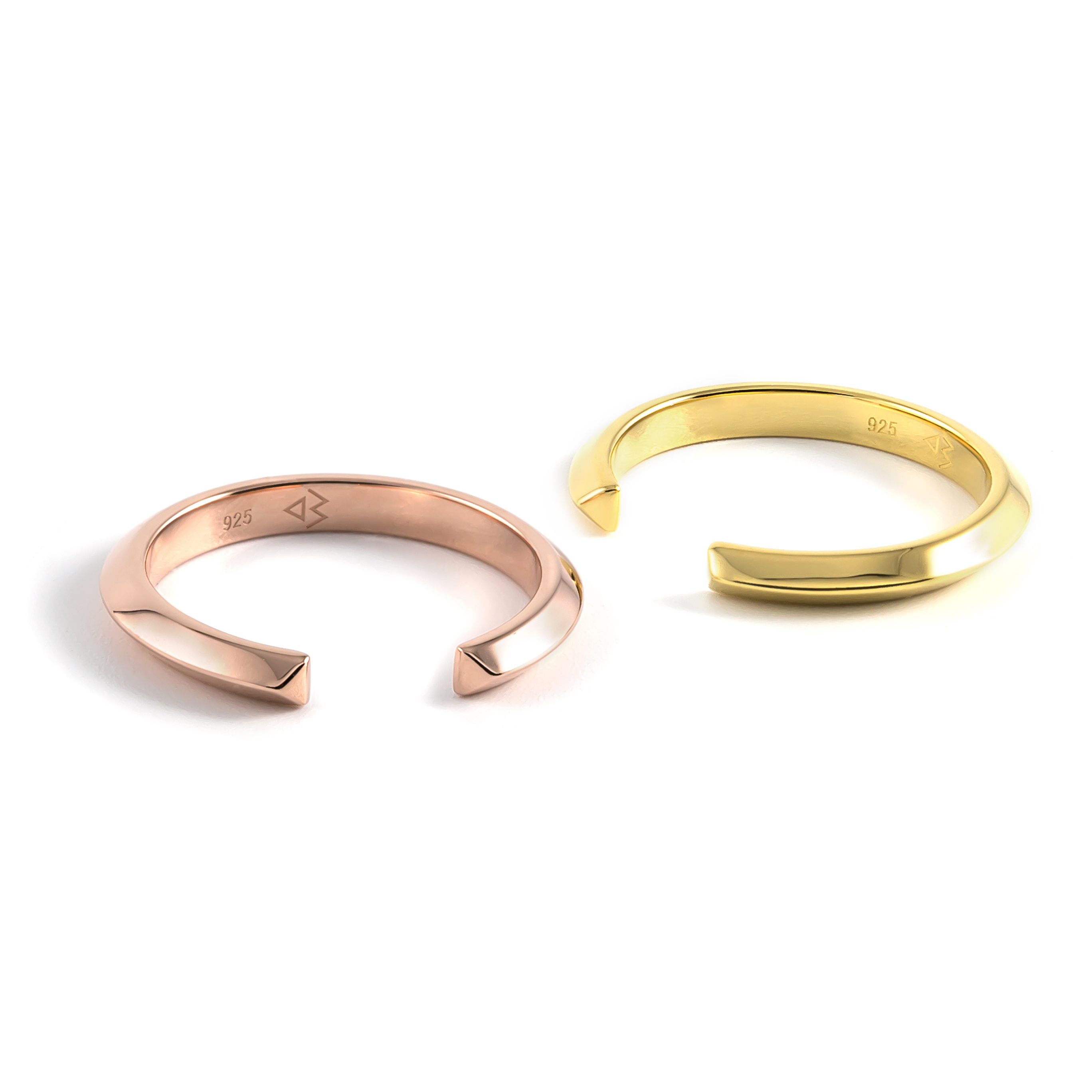 Crescent Slim Ring