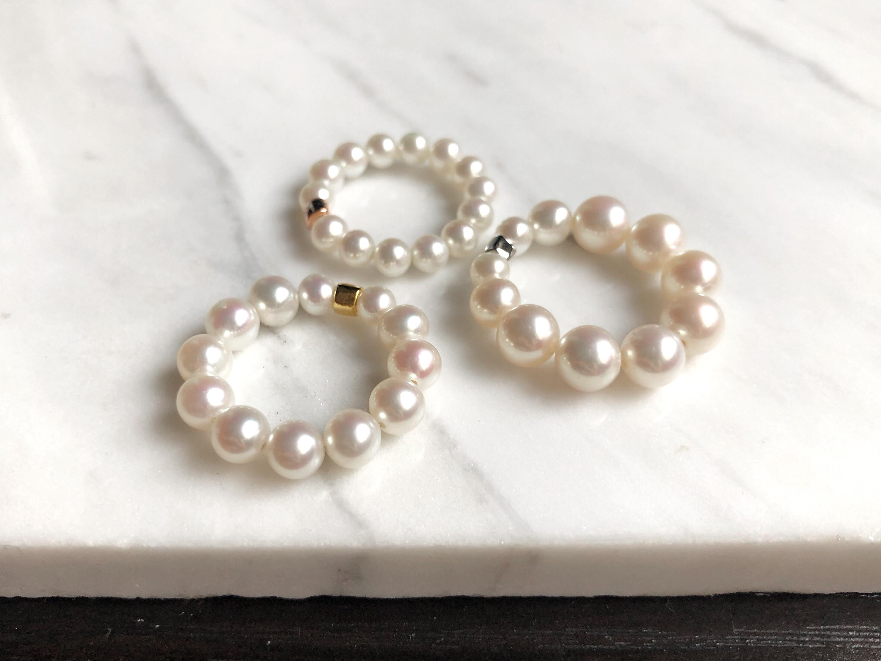 Hilda Pearl Rings
