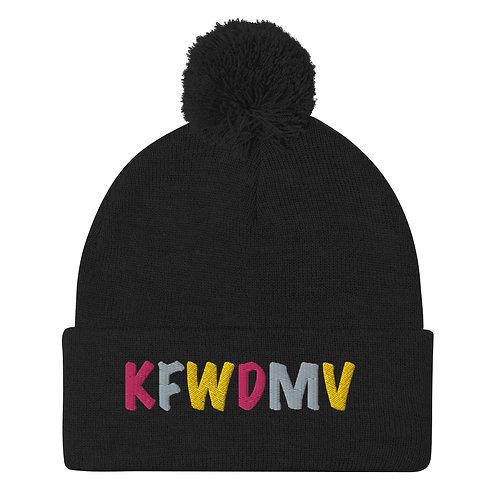 KFWDMV Pom-Pom Beanie