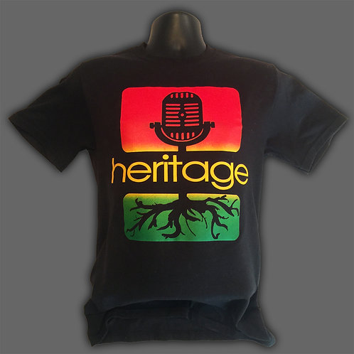 Black Rasta T-Shirt