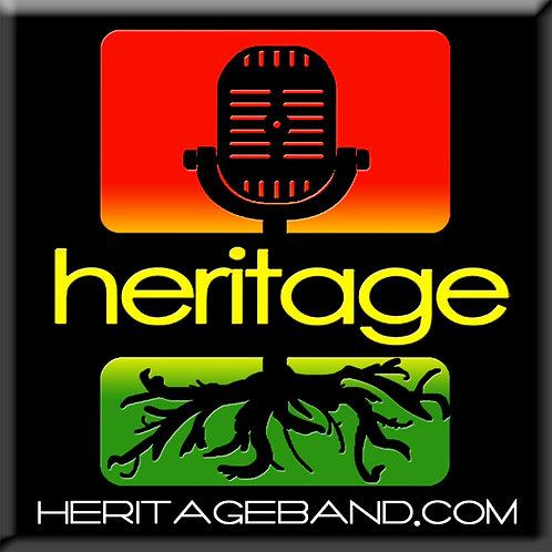 Heritage Sticker 3X3