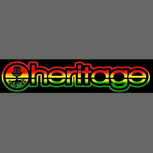 Heritage Bumper Sticker