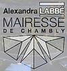 Écusson Alexandra LABBÉ Mairesse de Cham