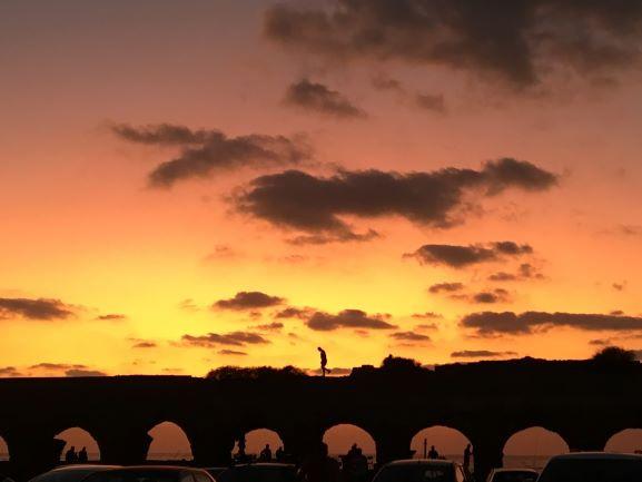 קיסריה חוף אקוודוקט