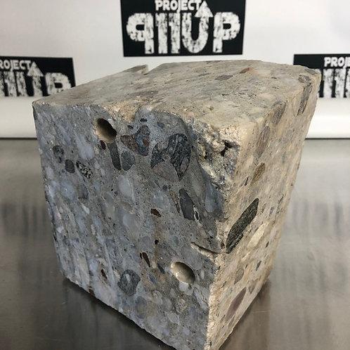 #88.s--9/11 Slurry Wall Sculpture