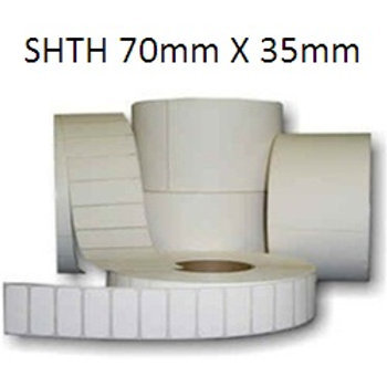 SHTH - Adhesive thermal barcode labels 70mm x 35mm (5.000pcs)