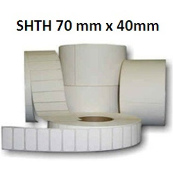 SHTH - Adhesive thermal barcode labels 70mm x 40mm (5.000pcs)