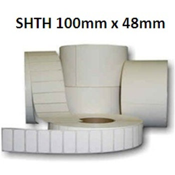 SHTH - Adhesive thermal barcode labels 100mm x 48mm (5.000pcs)