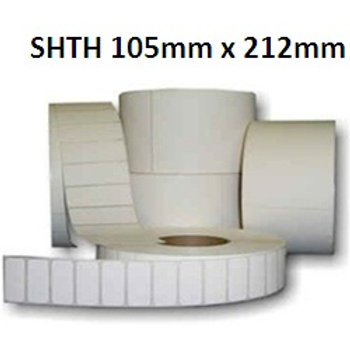SHTH - Adhesive thermal barcode labels 105mm x 212mm (5.000pcs)