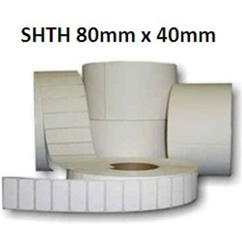 SHTH - Adhesive thermal barcode labels 80mm x 40mm (5.000pcs)