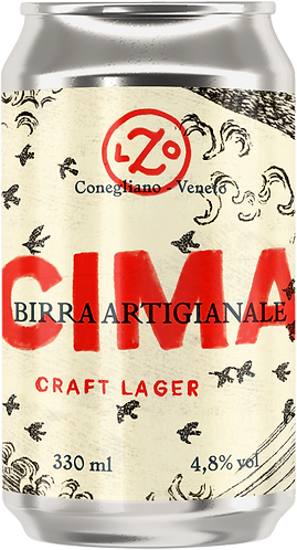 CIMA Craft Lager - 4 lattine da 330 ml