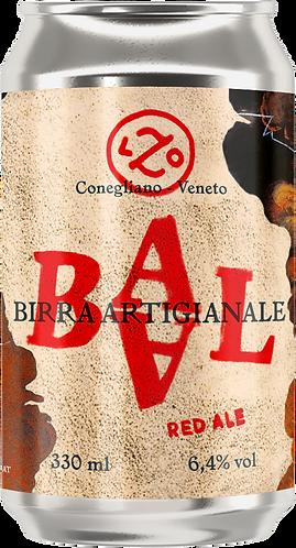 BAAL Red Ale - 4 lattine da 330 ml