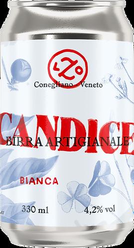 CANDICE Bianca - 4 lattine da 330 ml