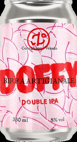 DOFFY Double IPA - 4 lattine da 330 ml