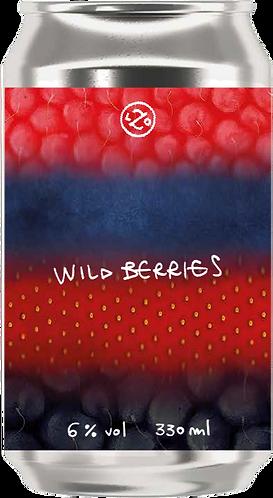 WILD BERRIES Drop-Out - 4 lattine da 330 ml