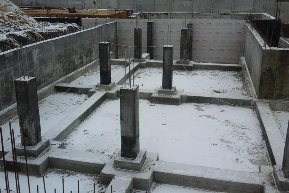 колонна фундамент