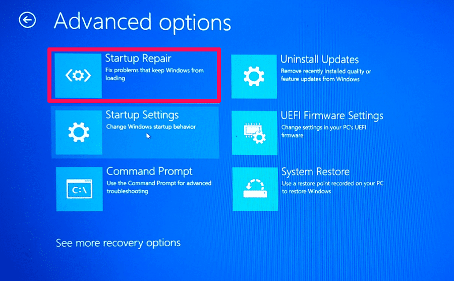 howtokr - How TO KR - Startup repair to fix windows 10