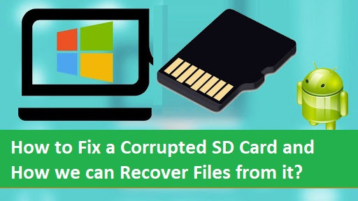 How to Fix a Corrupted SD Card and How we can Recover Files from it? - HowToKR - How TO KR