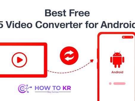 Best Free 5 Video Converter for Android - HowToKR