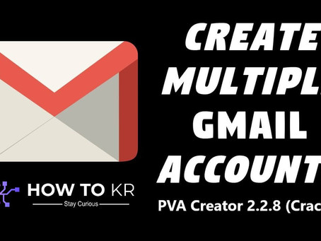 PVA Creator (Cracked) - Create Unlimited GMAIL / Facebook  /  Instagram Accounts - How To KR