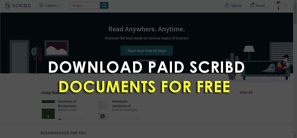 4 Methods Download Paid Scribd Documents For FREE in 2020