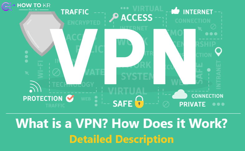 What is a VPN? How Does it Work? - Detailed Description - How To KR - howtokr