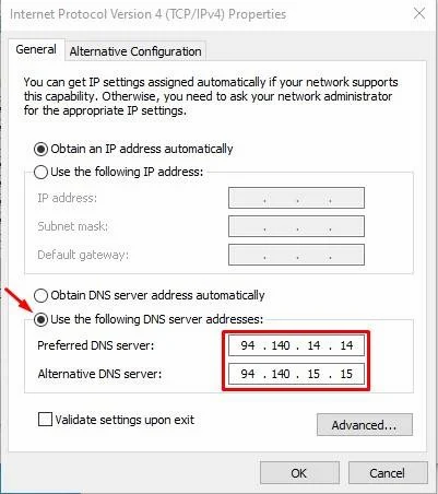 How To Setup AdGuard DNS On Windows 10 to Remove Ads - HowToKR - how to kr