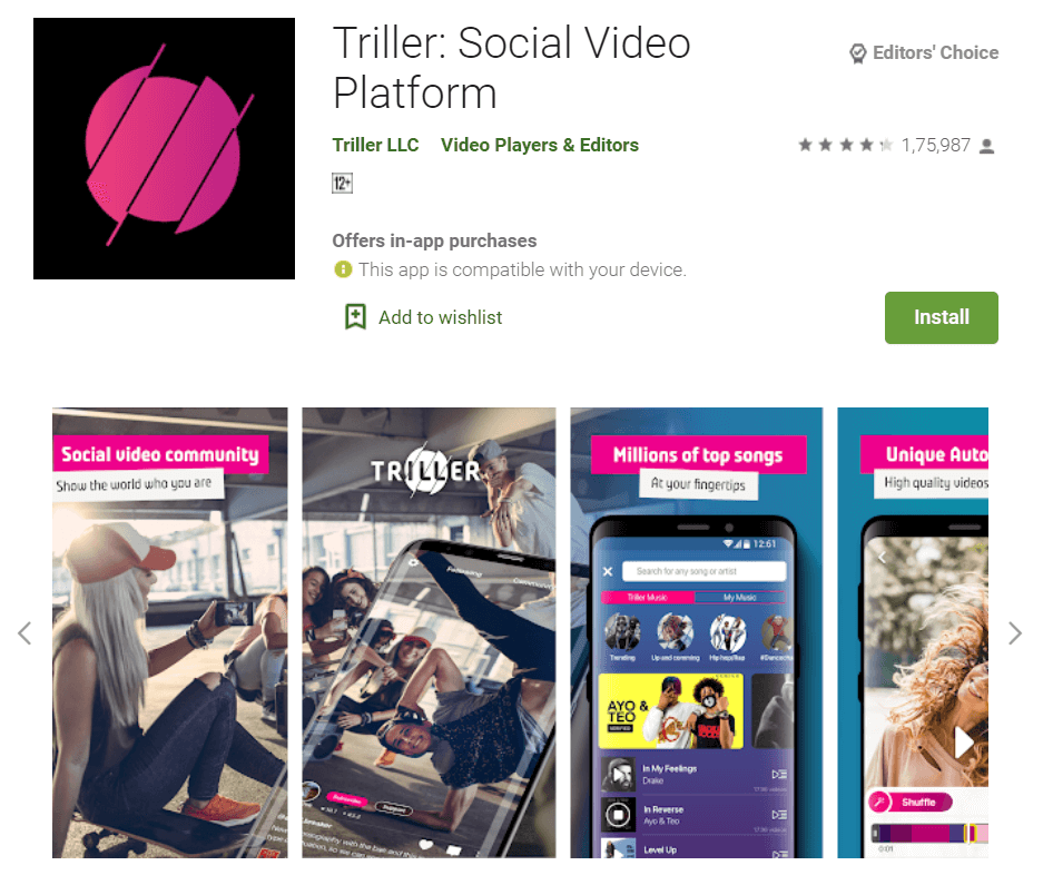 Triller - Socail Video Platform - 11 Best Chinese Apps Alternatives in 2020 - How To KR - howtokr