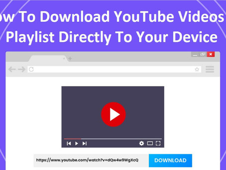 How To Download YouTube Videos & Playlist Directly To Your Device | How To KR
