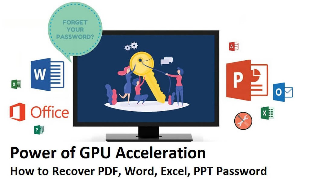 Power of GPU Acceleration: How to Recover PDF, Word, Excel, PPT Password | How To KR - howtokr