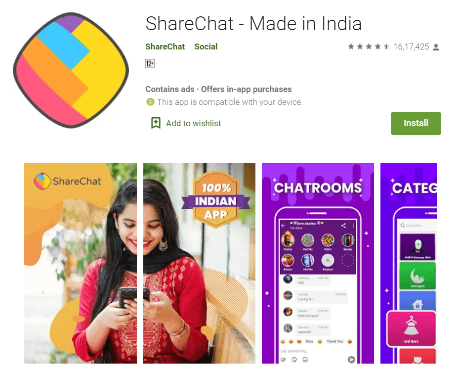 ShareChat – Helo Alternative  - 11 Best Chinese Apps Alternatives in 2020 - How To KR - howtokr