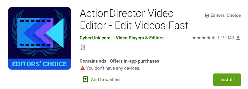 ActionDirector Video Editor Top 5 Video Editing Apps for Android in 2020 | How To KR - howtokr - howtokr.com
