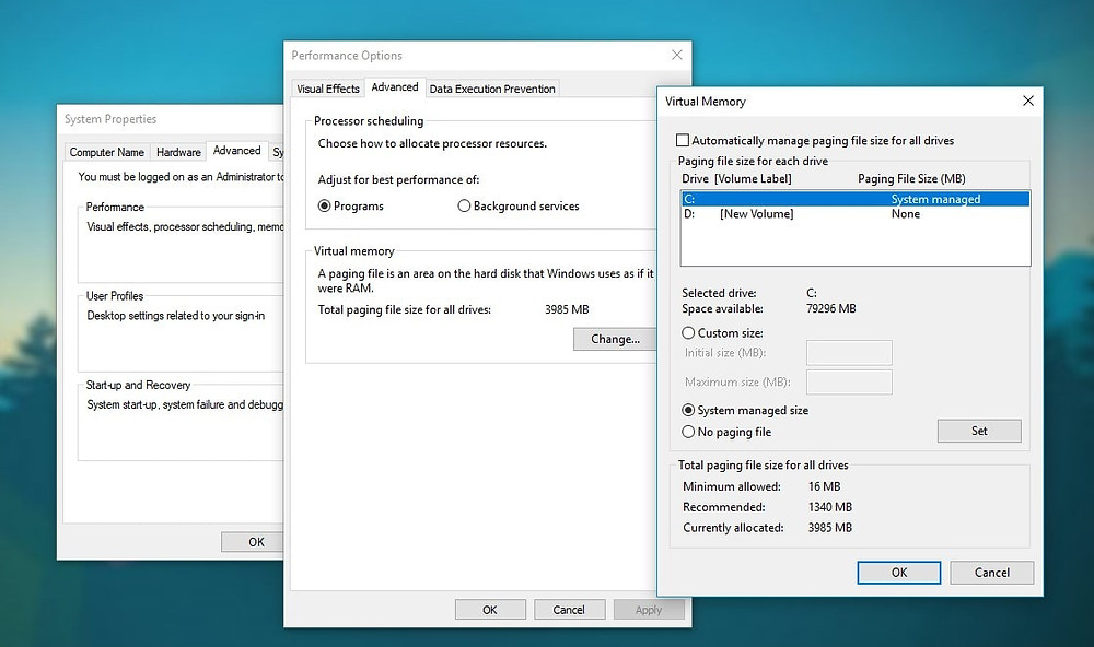 How To Increase Virtual Memory in Windows 10 | How To KR - howtokr