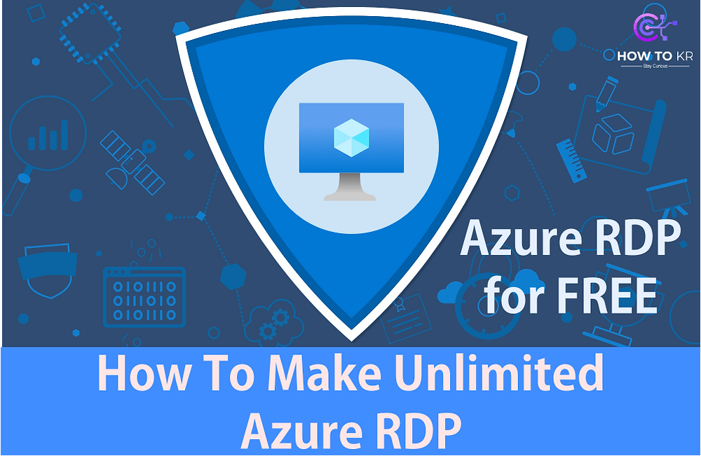 How To Make Unlimited Azure RDP - howtokr