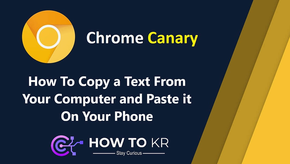 How To Copy a Text From Your Computer and Past it On Your Phone | How To KR - howtokr