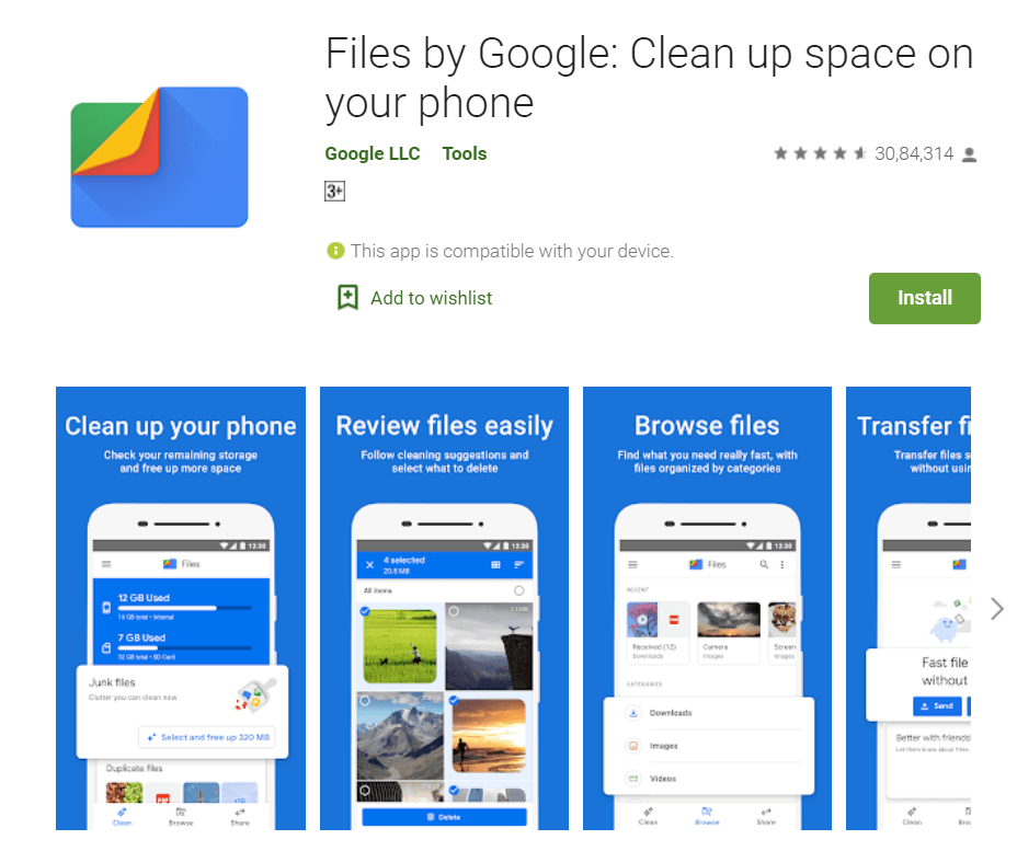 Files by Google (Alternative to SHAREit, Xender) - 11 Best Chinese Apps Alternatives in 2020 - How To KR - howtokr