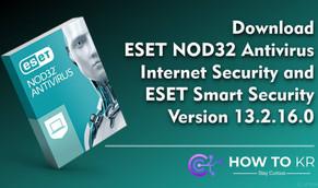 ESET NOD32 Antivirus 13.2.16.0