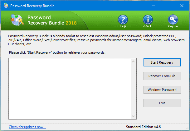About Password Recovery Bundle - How To KR - HowToKR