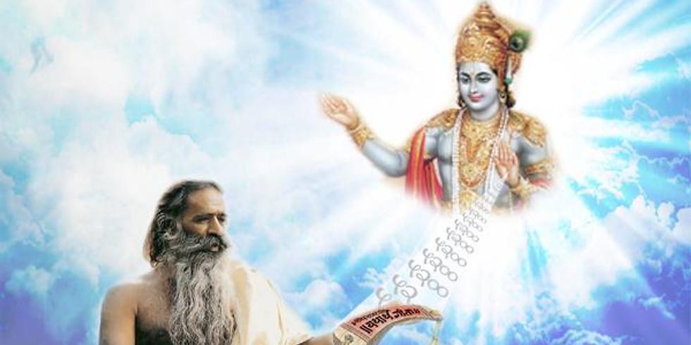 3 Cursos Intensivos La Biblia, Bhagavad Gita, Raja Sutras de Patanjali