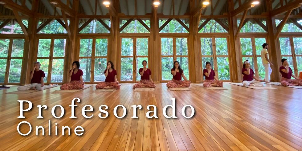 Profesorado Online Intensivo Yoga, Ayurveda y Ecología Védica