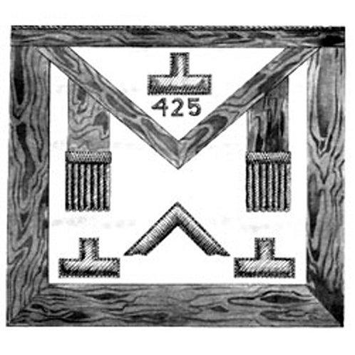 Lodge Officer/PM Apron 16 Pennsylvania Regulation