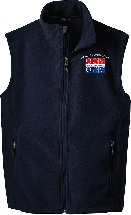 Kzoo Quilting Crew Men's Fleece Vest