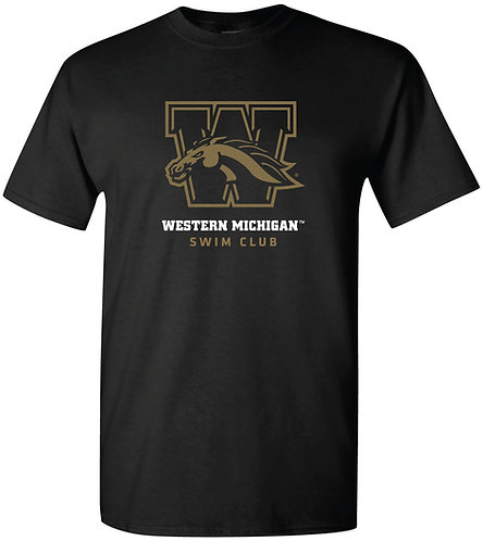 WMU Swim Club Short Sleeved Tee