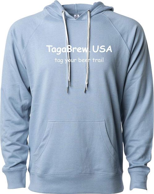 TagaBrew Beer Trail Lightweight Loopback Terry Hoodie