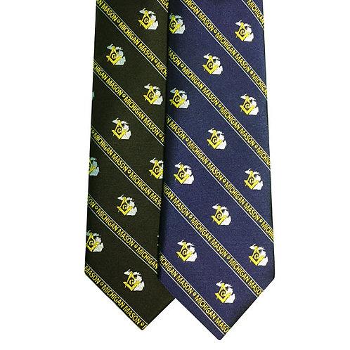 Michigan Mason Tie