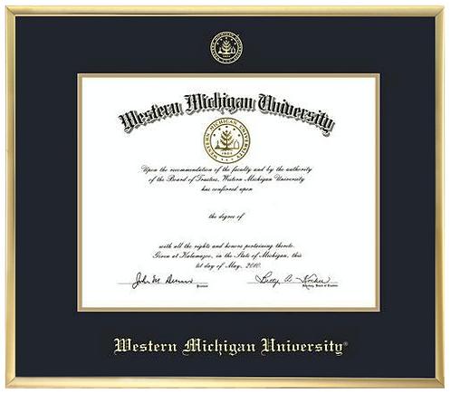 Varsity Single Diploma Frame