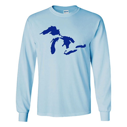 Great Lakes Long or Short Sleeved Tee