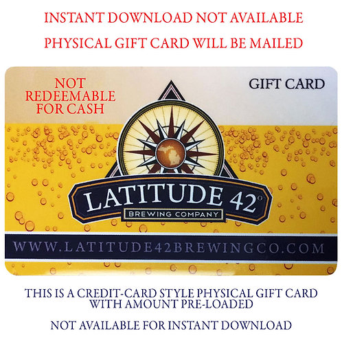 $50 L42 GIFT CARD